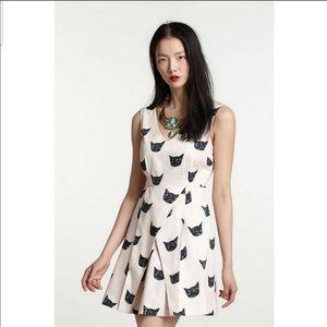 Anthropologie Leah reena goren cat dress size 2